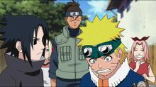 Sasuke and Naruto's rivalry