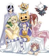 Fairy Tail Halloween Costumes by Hiro Mashima