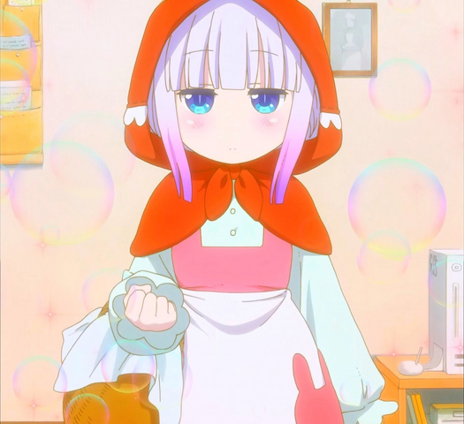 Kanna As Match Girl Stitched Cap (Miss Kobayashi's