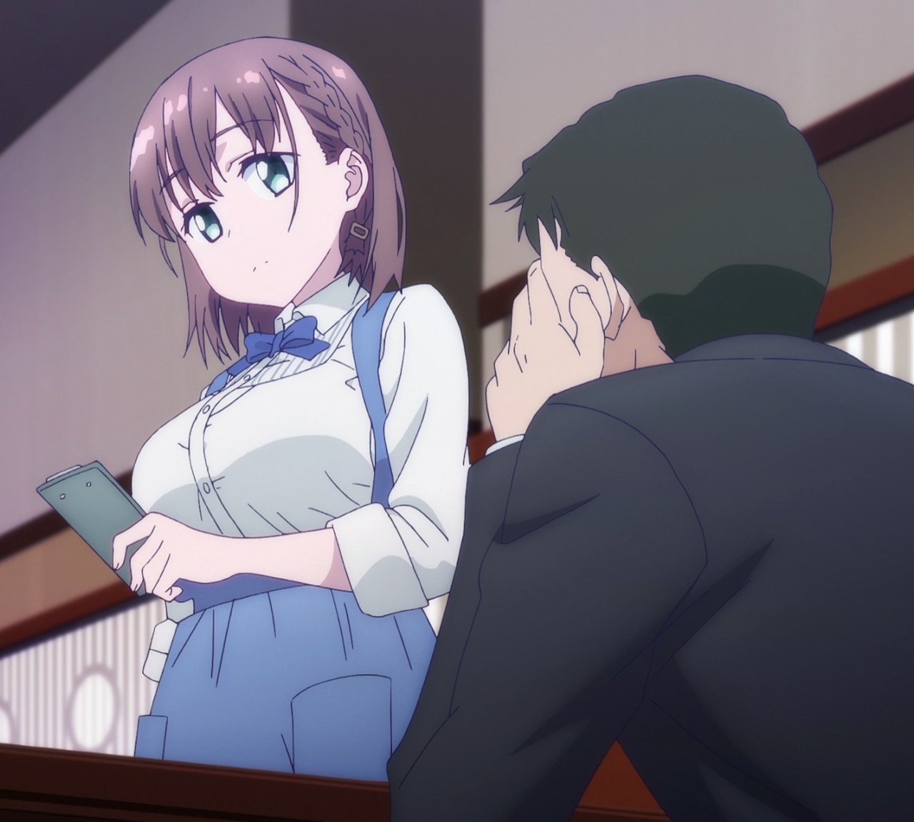 Ai-chan Working Stitched (Tawawa On Monday Ep 9