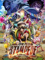 One Piece Stampede Poster