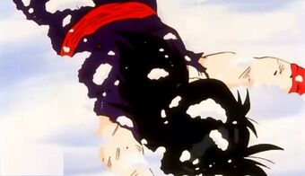 Gohan out cold
