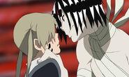 Soul eater asura and maka by jadedstardrawer14-d4i33e4