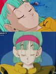 Bulma sleepy faces