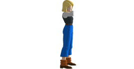 Android 18 nose wipe rb
