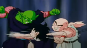 Krillin punchs gohan in the face 2