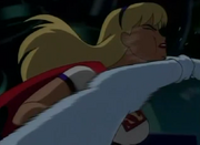 Super girl face punched2