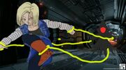 Android 18 captured by aliens by kaijuboy455-dai34mb