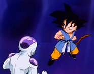 Frieza after punching gt kid goku in the stomach5