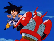 Gt kid goku fights
