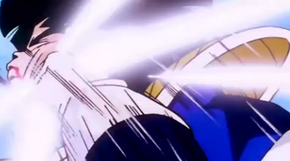 Vegeta punched gohan in the mouth2