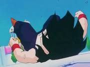 Gohan hits the ground hard4