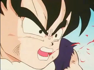 Kid gohan coughs up blood1