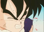 Kid gohan coughs up blood2