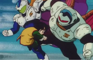 Gohan kneed in the stomach 0