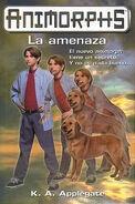 Animorphs 21 the threat La Amenaza spanish cover ediciones B
