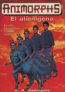 Animorphs 8 the alien spanish cover
