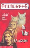 Animorphs 2 the visitor UK cover earlier