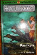 Animorphs 12 swedish paniken reaction cover