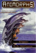 Animorphs 4 the message Viesti Finnish cover