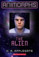 Animorphs 8 The Alien 2011 relaunch cover hi res