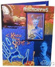 Animorphs school folder 4 Know the Secret