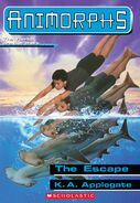 Animorphs 15 the escape ebook cover