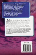Animorphs 5 the predator Il predatore italian back cover