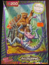 Rachel bear animorphs jigsaw puzzle cover hq