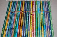 Animorphs indonesian book spines