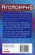 Animorphs 15 the escape UK back cover 1999