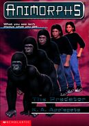 Animorphs 5 (The Predator) Updated Cover