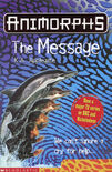 Animorphs 04 the message UK cover 1999 edition