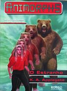 Animorphs 7 the stranger o estranho brazilian cover