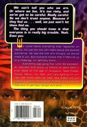 Animorphs megamorphs 2 time of dinosaurs back cover