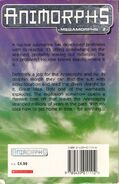 Animorphs uk time of dinosaurs back cover scan