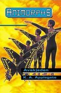 Animorphs 19 the departure Avskjeden Norwegian cover