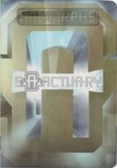 Animorphs Sanctuary passport front cover