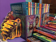 Animorphs books in alliance bookends