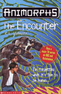 Animorphs 3 the encounter UK cover later