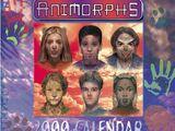 Animorphs 2000 Calendar