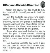 Elfangor animorphs alliance handbook bio
