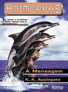Animorphs 4 the message A Mensagem brazilian cover Rocco