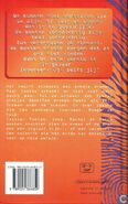 Animorphs 4 the message Het Signaal dutch back cover