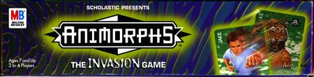 Animorphs the invasion game box side