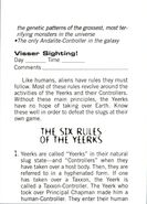 Aa handbook 17 six rules of yeerks