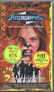 Australian VHS 1.4 front with Make the Change contest and sticker ad