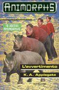 Animorphs 16 the warning L avvertimento italian cover