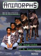 Animorphs 9 the secret O segredo brazilian cover Rocco