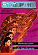 Animorphs the predator O Predador portuguese cover bertrand